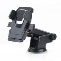 ingrosso iphone movil-Supporto del telefono del supporto del supporto del parabrezza di aspirazione del supporto del telefono dell'automobile 360 per iPhone Samsung GPS Suporte Movil Car