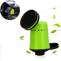 Wholesale Gps For Tablets - Phone Holder Car Air Vent Aromatherapy Magnetic Outlet Universal car Mount for GPS iPhone Samsung Xiaomi HTC Tablet