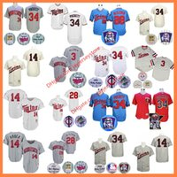 black kent - Kirby Puckett Jersey Harmon Killebrew Kent Hrbek Bert Blyleven Flexbase Cooperstown Minnesota Twins Throwback Jersey Grey Pinstripe