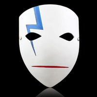 Wholesale Naruto Back - Resin Halloween Masquerade Party Masks Japanese Cartoon NARUTO Carnival Costumes Cosplay Prop Halloween Mask Collection Handicraft