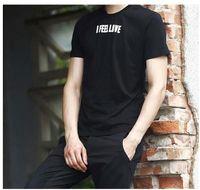 Wholesale I Love Paris - Asian Size New Unisex Tee Shirts Fashion I Feel Love Letter Print paris Cotton Mens TShirts