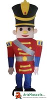 Wholesale Mascot Soldier - New Red Soldier mascot costume suit Human People character mascot, advertising mascots