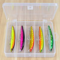 5pcs / Box / lot Fishing Lure exporté vers le Japon Bass 5Colors Fishing Bait 15.5g-0.54oz / 12cm-4.7