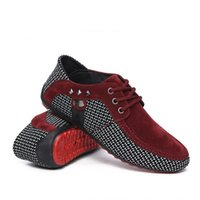Wholesale Top Driving Shoes Men - 2017 Spring New Arrivals Men Loafers Shoes Breathable Lightweight Mens Fashion Driving Shoes Low top Flats Red Bottom Moccasins