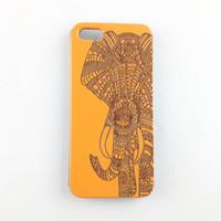 natürliche hölzerne abdeckung iphone groihandel-Holz natürliche telefon case für iphone 6 7 plus abdeckung holz hohe qualität personalisierte geschnitzte case