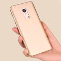 Wholesale Black Skin Rhinestones - Case For Xiaomi Redmi Note 4 Case Capa Soft Matte Skin PC Phone fundas Back Cover For Xiaomi note 3 note 4X cover