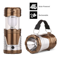 Wholesale Rechargeable Bulb Solar - Camping Lantern Camping Lantern Flashlights,Collapsible Solar Lanterns Rechargeable LED Lantern Camp Lights Table Lamp for Outdoor