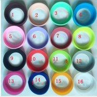 silikon-gummi-pads großhandel-Mode Neue Silikon Gummi Tasse Becher Pad Anti Scratch Getränkeflaschenhalter Untersetzer Saugnapf Rutschfeste Schutzhülle Multi Farben