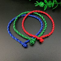 Wholesale Couple String - Fashion Bracelet Red Rope Bangle Lucky Bracelets on the Leg for Unisex String Line Handmade Jewelry Couple Lover Gift wholesale