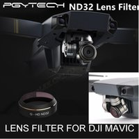 Parts Aviation Aluminum-Alloy PGY HD ND32 Lens Filters Gimbal PGY HD ND32 Lens Filters Gimbal Accessories for DJI MAVIC Pro Drone Quadcopter