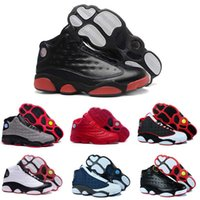 Wholesale Leather Tassels For Sale - [With Box] Wholesale Jumpman Cheap Hot New men Basketball Shoes Air Retro 13 Bred Sports Shoe Running Shoes Mens Basketball Shoes For Sale
