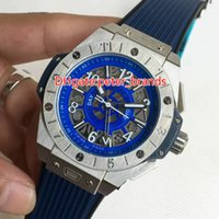Wholesale Big Bang Case - SILVER case rubber strap big automatic bang wrist watch water resistant brand fashion 2017 new arravals watches