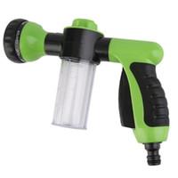 pistola de agua de limpieza de alta presión al por mayor-Lavadora de automóviles Manguera de jardín Pulverizador Espuma de alta presión Pistola de agua limpia para plantas de riego Lavado de autos Ducha para mascotas