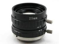 industrielle kamera freies verschiffen großhandel-Freies Verschiffen 5 Megapixel 25mm Zoom HD Sicherheit Industriekameraobjektiv, direkt ab Werk Verkauf.