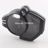 Wholesale Speedometer For Yamaha - New Black Speedometer Tachometer Clock Case Cover Fits for Motorcycle Yamaha YZF R1 2009-2012 Custom Free Shipping