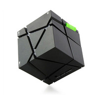 Wholesale free computer music - NEW Portable Magic Cube LED Bluetooth Speaker Wireless Deep Bass Subwoofer For Phone MP3 Computer Music Xiaomi Loudspeaker Free DHL