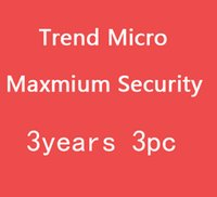 Wholesale Trend Micro Maxmium Security Year YEAR PC trend micro
