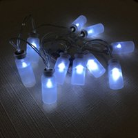 Wholesale vintage light string for sale - Group buy Vintage Clear Glass Jar LED String Lights Mason Jar Fairy Lights Battery Operated ft LED String light