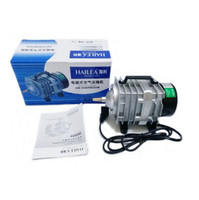 Wholesale Hailea Aquarium Air Pump - 70L min 45W Hailea ACO-318 Electromagnetic Air Compressor Aquarium Air Pump Fish Tank Increase Oxygen+Free Shipping