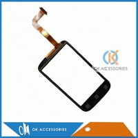 Wholesale Desire C Digitizer - For HTC Desire C A320 Touch Screen Digitizer Panel Repair Replacement 20PC Lot