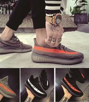 Wholesale Womens Shoes Size 11 Tennis - 2017 Mens and Womens Running Shoes New Arrivals Boost 350 V2 SPLY-350 Primenkit Beluga Orange Black Sneakers Size US5-11 Boost
