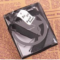ingrosso graduazione della nappa-Segnalibro in metallo con graduazione in metallo con eleganti nappe nere