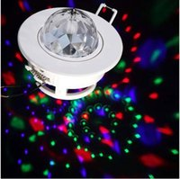 Jiawen 4 teile / los 3 Watt Bunte LED sprachaktivierte Moving Head Decken Bühne Licht DJ Disco party LED effekte lichter