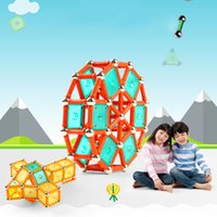 Wholesale Drop Ship Educational Toys - 356 Pcs Set Magnetic Build Toy Magnetic Block Learning And Educational Toys For Children Magformers Drop Shipping