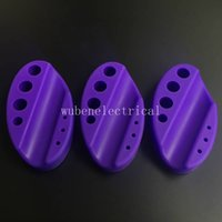 5Pcs Durable Silicone ovale Tattoo Pigment inchiostro Tazza Holder Tazza Stile permanente Tattoo Machine Organizer Accessori Rack Accessori