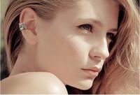 Wholesale Invisible Pierced Earrings - European and American fashion retro punk U ear clip earrings pierced earrings no pierced Invisible ear clip