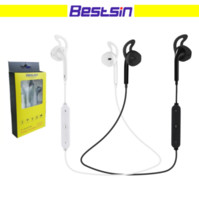 Wholesale Wireless Microphones Ears - Bestsin S6 Wireless bluetooth headphone Stereo Cellphone in-ear headset with microphone outdoor sport running for smart phone