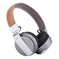 Wholesale Wireless Bluetooth Headphones Stereo Foldable - Bluetooth Wireless Headset BT008 Headphone Foldable TF Card FM Radio Earphone Dual Stereo Headphone With Microphone