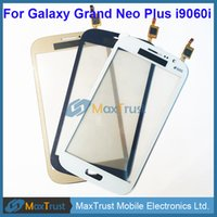 Wholesale galaxy grand neo for sale - Group buy Top Quality quot For Samsung Galaxy Grand Neo Plus i9060i Touch Screen Digitizer Front Panel Sensor Black White Gold Color