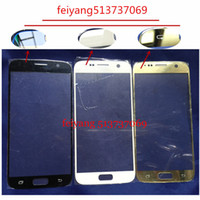 Wholesale T P Wholesale - 10pcs A+ quality Replacement LCD Front Touch Screen Outer Glass Lens For Samsung Galaxy S6 G920 G920F P T I