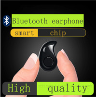 Wholesale Gold Sport Running S530 Mini Stealth Wireless Bluetooth Earphone Stereo Headphones music Headset Retail Box for iphone7 plus plus