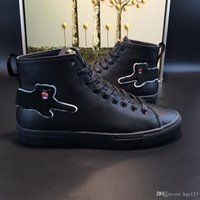 Wholesale Style Leather Mens Boot - Men Fashion Boots spring and fall Luxury brand mens shoes Italian designer Style casual boots model 184062906