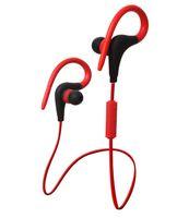 Wholesale Ear Hook Computer Earphone - Sports Bluetooth stereo Earphone with earhooks CSR 4.1 Headset Wireless Headphones Ear Phone Earbuds for outdoor Sports phones computers