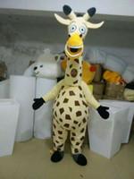Wholesale Giraffe Mascots - New giraffe mascot costumes props costumes Halloween free shipping