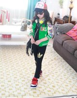 Wholesale Trousers Leggings For Baby - 2017 new AD girls Pants Children's Girl's leggings Kids Solid Cotton Long Tight Pants for 2-8 years Baby girls Sweatpants girls Trousers