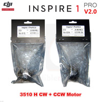 Wholesale M4 Motor - DJI Inspire 1 PRO V2.0 RC Drone 3510 H Brushless CW CCW Motor For M1,M2,M3,M4
