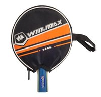Wholesale Table Tennis Racket Bag - Red Table Tennis Racket ,Pingpong Paddle   Bat With A Case For PingPong Bag