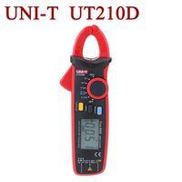 uni t klemmen großhandel-UNI-T UT210D Digital Clamp Meter Multimeter AC / DC Strom Spannung Meter Temperaturmessung Multitester Auto Range Multimetro