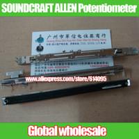 Wholesale Allen T Handle - Wholesale- for behringer SOUNDCRAFT LX7 GL2400 Fader Single Slide Potentiometer A10K T Handle   ALLEN GL2200 2400 2600 PA12 Mixer Fader