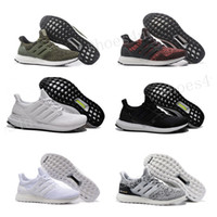 Wholesale Genuine Canvas Shoes - New Ultra Boost 3.0 2.0 Triple Black and White Primeknit Oreo CNY Blue grey Men Women Running Shoes Ultra Boosts ultra boost US 5-11