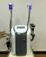 Wholesale Liposuction Laser Machine - 2017 New Arrival Portable Cryo Lipolysis Slimming Machine Cool Sculpting Cryotherapy Ultrasound RF Liposuction Lipo Laser Machine DHL Free