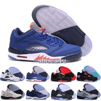 Cheap Retro 5 Basketball Sneakers Hommes Femmes Rétro Chaussures 5s V Authentique Sports Homme Zapatos Real Replicas Taille US5.5-13