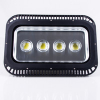 Wholesale project outdoor - High Quality Bright 200W 300W 400W 500W 600W led Floodlight Outdoor Floodlamp waterproof LED Tunnel flood project light lamps AC 85-265V