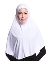 Wholesale New Islamic - 2017 New Arrival HB101 Classic muslim Islamic dubai suadi arabic world hijab scraf shaw 1 pc shipping