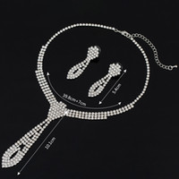 Wholesale Earrings Weding - 2017 Hot Selling Silver Plated Jewelry Sets High Quality Jewelry Set For Women weding gift Wholesale Necklace & Earrings