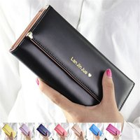Wholesale Case For Pencils Woman - Wholesale- Fashion Brand Clutch Pencil PU Leather Phone Zipper Change For Lady Girl Women Coin Purse Case Holder Wallet Female Pouch Bag